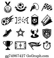 Football Fans Clipart Lizenzfrei Gograph