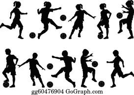 Fussballspieler Clipart Lizenzfrei Gograph