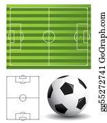 Football Pitch Clipart Lizenzfrei Gograph