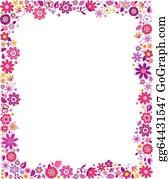 Pink Border Clip Art Royalty Free Gograph