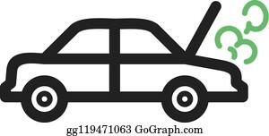 Car Emitting Smoke, Vector Royalty Free Cliparts, Vectors, And Stock  Illustration. Image 46526223.