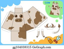 eps vector funny bird paper model small home craft project diy