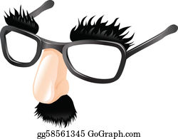 Black eyeglasses with nose art illustration, Groucho glasses Disguise,  glasses transparent background PNG clipart   HiClipart