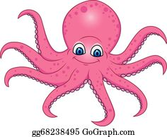 Octopus Clip Art - Royalty Free - GoGraph