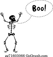 Funny Skeleton Clip Art - Royalty Free - GoGraph