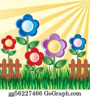 flower garden clip art royalty free gograph flower garden clip art royalty free