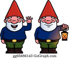 Cartoon old man. Gnome isolated on white background. | Cartoon garden, Free  vector art, Gnomes