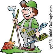 Gardener Clip Art Royalty Free Gograph