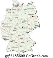 Vector Clipart - 8 cities of germany. Vector Illustration gg75906756 ...