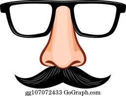 5f2a5576d6d Groucho Marx Clip Art - Royalty Free - GoGraph