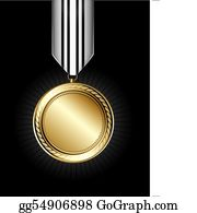 1St Medal Clip Art - Royalty Free - GoGraph
