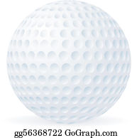 b098c198 Golf Ball Clip Art - Royalty Free - GoGraph