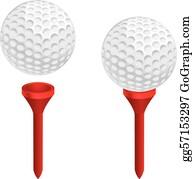Golf Ball Tee Clip Art Royalty Free Gograph