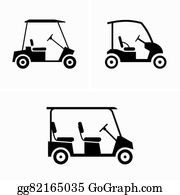 Golf Carts Clip Art - Royalty Free - GoGraph on