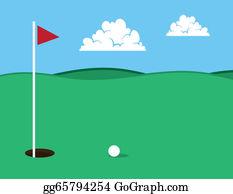 Golf Course Clip Art Royalty Free Gograph