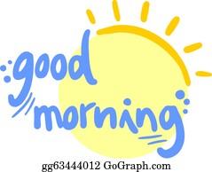 Good Morning Clip Art Royalty Free Gograph