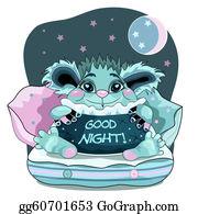 Good Night Clip Art - Royalty Free - GoGraph
