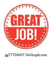 Great Job Clip Art N52 free image