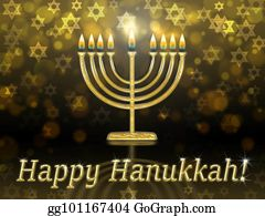 Stock illustrations happy hanukkah greeting card design with greeting card with inscription happy hanukkah m4hsunfo