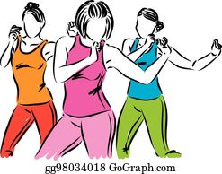 October - Zumba Fitness Clipart - Full Size Clipart (#75834) - PinClipart