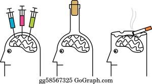 Addiction Clip Art - Royalty Free - GoGraph