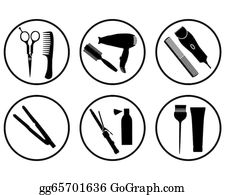 Hair Stylist Pictures Clipart in 2020   Hair stylist logo, Hairstylist  tools, Hair stylist