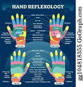 Reflexology Clip Art - Royalty Free - GoGraph