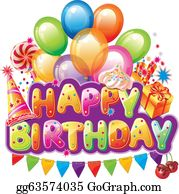 Happy Birthday Clip Art Royalty Free Gograph