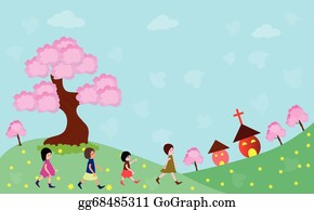 Family Church Clip Art Royalty Free Gograph