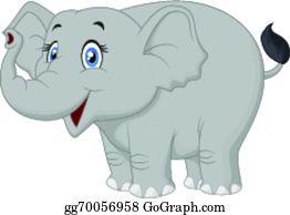 Elephant clipart Royalty Free Vector Image - VectorStock