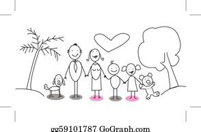 Family Walking Beach Clip Art Royalty Free Gograph