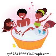Hot Tub Clip Art, Transparent PNG Clipart Images Free Download - ClipartMax