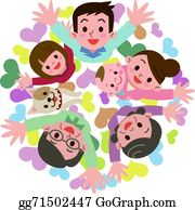 cartoon clip art - clip art happy family PNG image with transparent  background | TOPpng