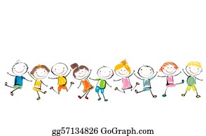 Children Clip Art - Royalty Free - GoGraph