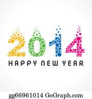 Happy New Year 2015 Clip Art
