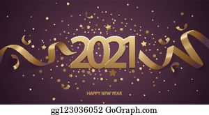 Year 2021 Clip Art Royalty Free Gograph