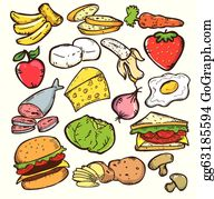 Download Eat Healthy Food Drawing Clipart Healthy Diet - Eat Healthy Food  Drawing Png - Free Transparent PNG Download - PNGkey