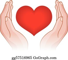 Hands Clip Art - Royalty Free - GoGraph