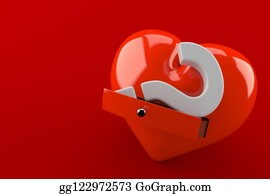 Question Mark Heart Stock Illustrations - Royalty Free ...