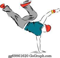 Hip Hop Dance Clip Art Royalty Free Gograph