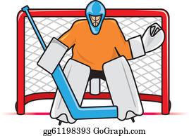 Hockey Net Clip Art Royalty Free Gograph