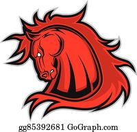 Mustang Clip Art Horse Bclipart Free Clipart Images - Cartoon Black Horse -  Free Transparent PNG Clipart Images Download