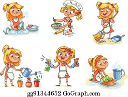 House Cleaning Clip Art Royalty Free Gograph