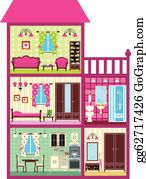 Doll's House Clipart (#541975) - PinClipart