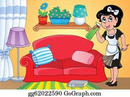 Marvelous Housewife Clip Art Royalty Free Gograph Interior Design Ideas Clesiryabchikinfo
