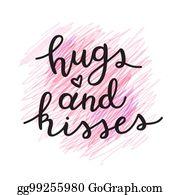 Hugs And Kisses Clip Art Royalty Free Gograph