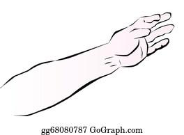Free Clipart: St Patricks Girl Right Arm   Merlin2525