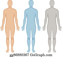 Human Body Outline Clip Art Free