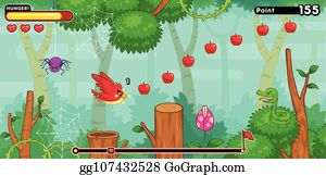 2D Game Graphics Clip Art - Royalty Free - GoGraph