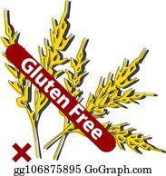 Gluten Intolerance Vectors - Royalty Free - GoGraph